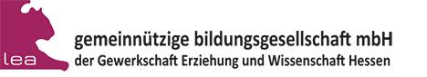 Logo von LEA - gemeinnützige Bildungsgesellschaft mbH der GEW Hessen